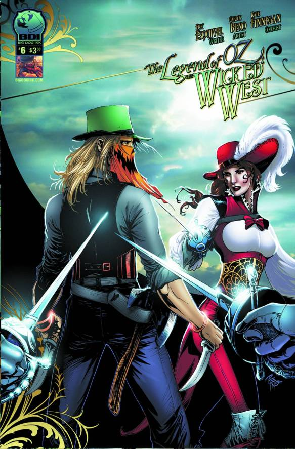 legend of oz wicked west #6
