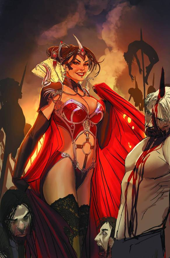 Grimm Fairy Tales: THE DARK QUEEN